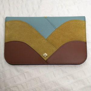 Kate Spade Nadine patchwork clutch wallet
